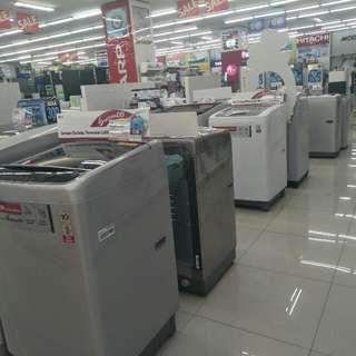 PROMO mesin cuci BUNGA RINGAN