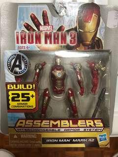 Iron man toy figurine