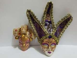 意大利裝飾小面具(磁石及掛繩)