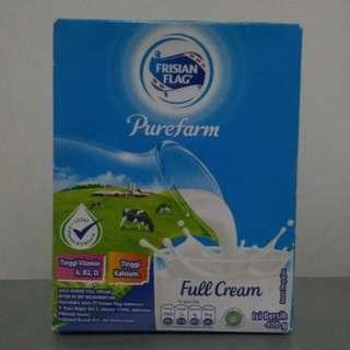 Frisian Flag Purefarm Full Cream (Susu Bendera)