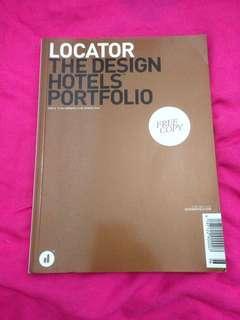 Locator the design hotels portfolio book
