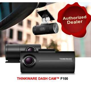[Authorised Dealer]☆THINKWARE F100☆ Korea No.1 Full HD/ HD 2-Channel Car Camera Dvr Dashcam Dvr Blackbox 16GB 1Year Warranty Free Installation