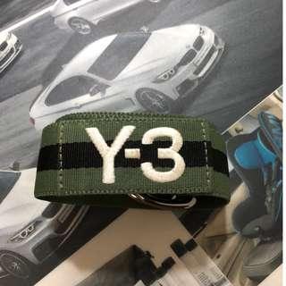 Y3 Green&Black Stripes Belt