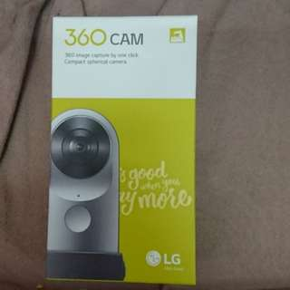 LG 360 Cam 99%new