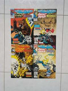 Marvel Comics Presents 108 -111 Complete 4 Part Thanos Story Jim Starlin Infinity War Tie In