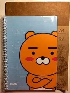 Kakao friends - Ryan notebook