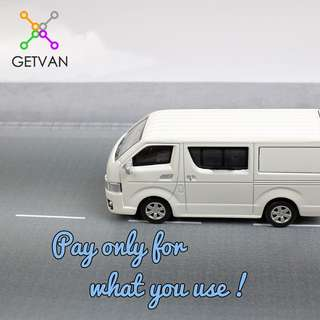 Book a goods or passenger van with driver from $25