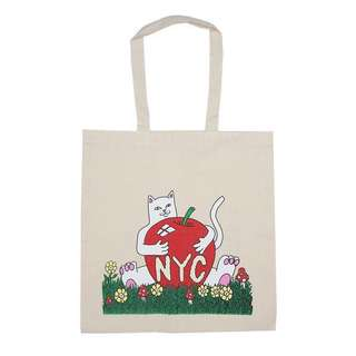 RIP N DIP tote bag (natural canvas)