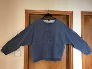 Club Monaco 🇰🇷 Retro Sweatshirt Men 韓系 韓風 鬆身 長袖 衛衣