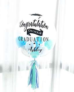 Graduation Helium Balloon