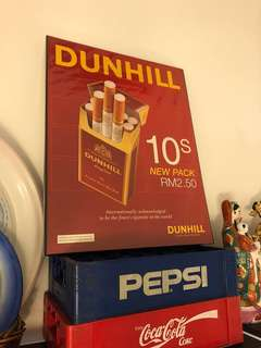 Vintage Dunhill poster