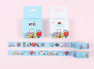 [PO] BT21 Washi Tape
