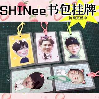 Big head SHINee cards 💕 [Customisable]
