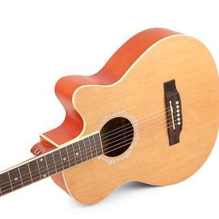 Caravan Music Acoustic Guitar (Spruce Top, 39inches)