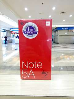 Xiaomi Note 5A Promo Kredit Murah