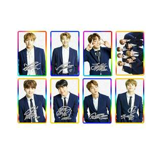 [PO] BTS Transparent Card