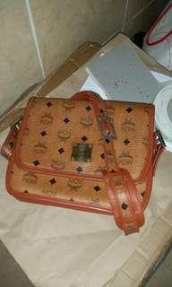 Vintage MCM Sling crossbody Bag