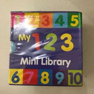 My first library/ buku pocket/ buku bayi