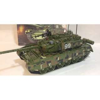 Re-stock Modern military T99 model Tank lego-compatible