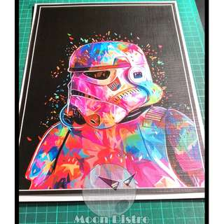 Star Wars PVC Stickers - Canvas (Stormtrooper)