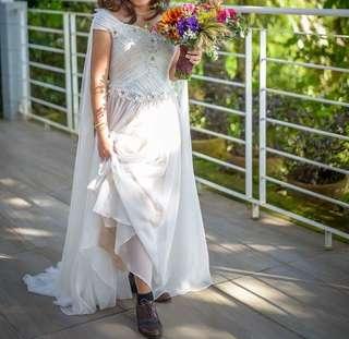Ferdie Sayo Medieval Wedding Gown for RENT or SALE
