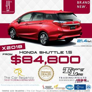 Honda SHUTTLE 1.5 ( 2018 )( NEW )( WGN )   ×TAG  FIT JAZZ  VEZEL HR-V