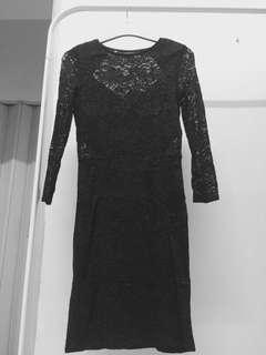 Warehouse lace dress