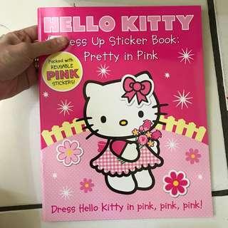 Sticker book hello kitty