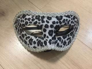 Leopard Print Mask Masked Parties