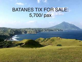 BATANES ROUNDTRIP TICKET