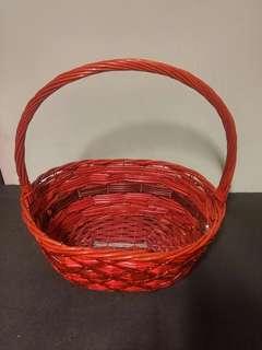 Hamper Basket (set B : Red)
