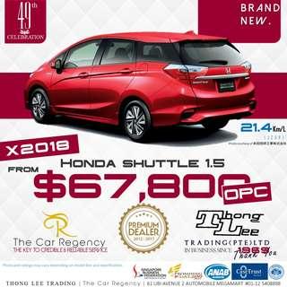 Honda Honda SHUTTLE 1.5 OPC ( 2018 )( NEW )( WGN )( OPC )( ROPC )( WEC )