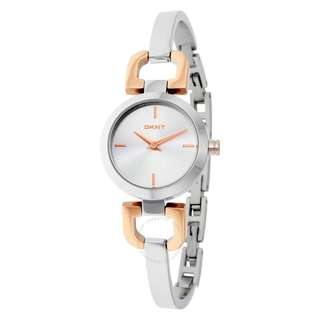 Silver/Rose Gold DKNY D-Link Watch NY2137