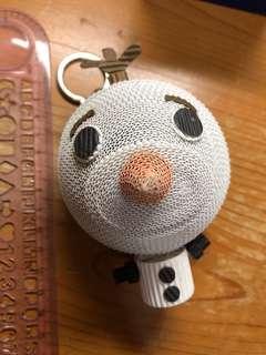 frozen Olaf 雪寶 小白 手作 鎖匙扣