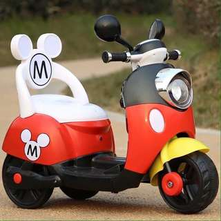 Mickey Mouse Scooter Rechargeable Motorcycle Toy