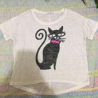 F21 Kitten T-Shirt