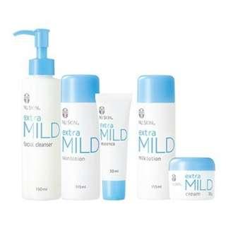 Nuskin Japan Extra Mild Total System (for Sensitive Skin)