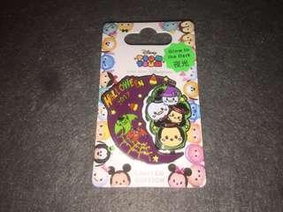 香港迪士尼 徽章 Disney Pin Halloween 2017 Tsum Tsum LE500 Mickey Minnie Donald Daisy