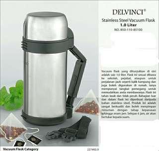 S.Steel Vacuum Flask 1.0 Liter