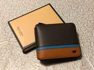 [Authentic] Braun Buffel Zip-round Men's Wallet