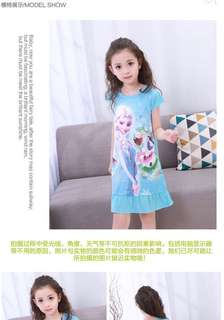 Pyjamas frozen dress