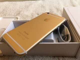 Iphone 6 128gb Gold Globe Locked Like New Complete