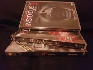 insidious insidious chapter 2 insidious chapter 3 兒凶1,2,3集 dvd
