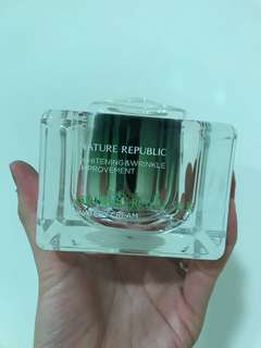 Nature republic whitening and wrinkle improvement watery cream 60g