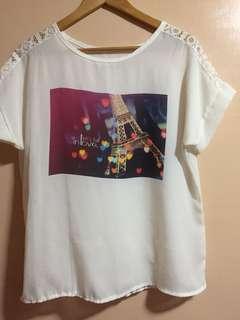 SALE - See-through blouse