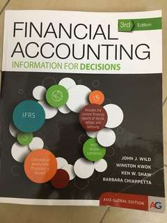 Financial Accounting Textbook