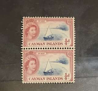 Cayman Islands mint pair Queen eliz