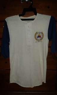 Vintage 3Q three quarter military Fort Knox t-shirt