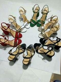 Gucci Block Sling heels