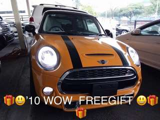 UNREG 2014 NEW MINI COOPER S 2.0 TWIN TURBO ORANGE